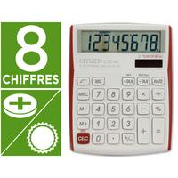 CITIZEN CDC-80 ROUGE/BLANC 8 CHIFFRES