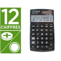 CITIZEN CPC-112 NOIR 12 CHIFFRES