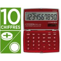 CITIZEN CPC-110P ROUGE 10 CHIFFRES