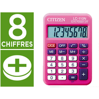 CITIZEN LC-110N ROSE 8 CHIFFRES