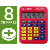 CITIZEN LC-110N ROUGE 8 CHIFFRES