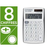 CITIZEN SLD-322 BLANC/NOIR 8 CHIFFRES