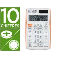 CITIZEN SLD-322 BLANC/ORANGE 10 CHIFFRES