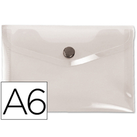 LIDERPAPEL POCHETTE A6 TRANSPARENT