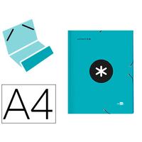 LIDERPAPEL ANTARTIK 12 COMPARTIMENTS TURQUOISE