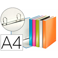 LEITZ WOW A4+ ASSORTIS ANNEAUX EN D 20mm