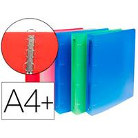 EXACOMPTA CHROMA A4+ PACK DE 10 ASSORTIS ANNEAUX 30mm