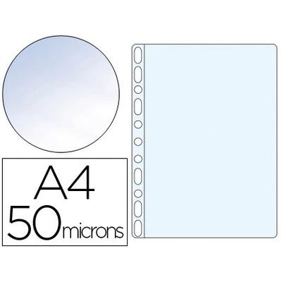 POCHETTES A4 55 MICRONS LISSE CRISTAL PACK DE 100