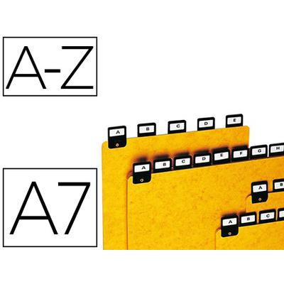 INTERCALAIRE ALPHABÉTIQUE A7 75X125MM