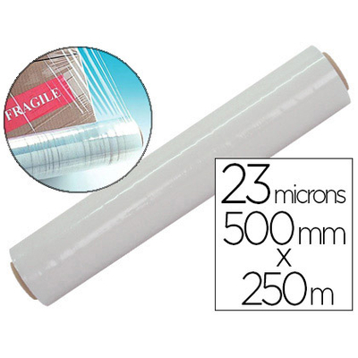 FILM ÉTIRABLE 17 MICRONS 0.45X300M TRANSPARENT