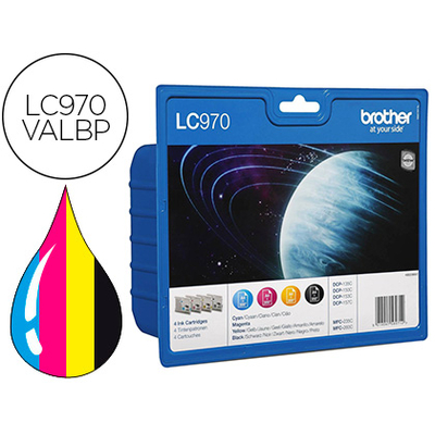 BROTHER LC970VALBP MULTIPACK
