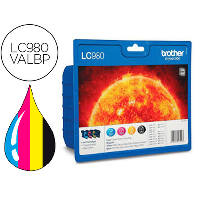 BROTHER LC980VALBP MULTIPACK