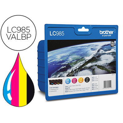 BROTHER LC985VALBP MULTIPACK