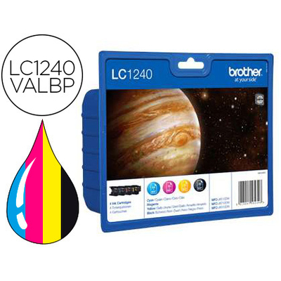 BROTHER LC1240VALBP MULTIPACK