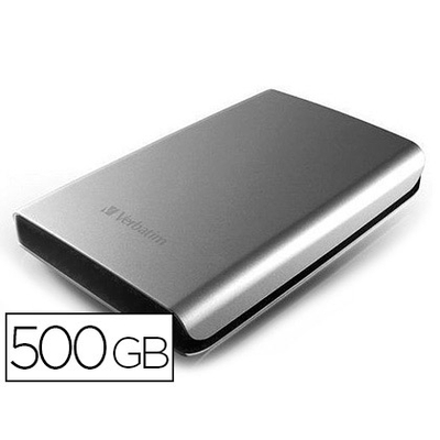 DISQUE DUR STORE'N'GO 3.0 500GB GRIS
