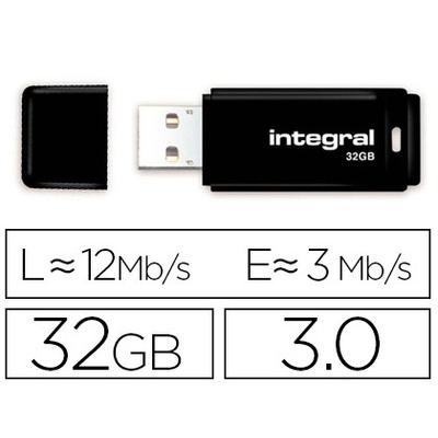 CLÉ USB PASTEL 32GB NOIR
