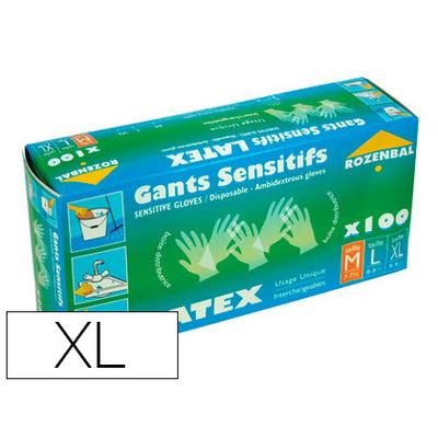 ROZENBAL GANTS EN LATEX PACK DE 100 TAILLE XL