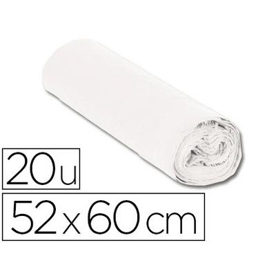 SACS BLANC 20L PACK DE 20