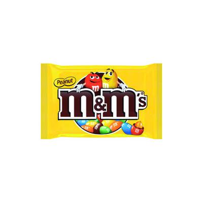 M&M'S CACAHUÈTES SACHET DE 100g
