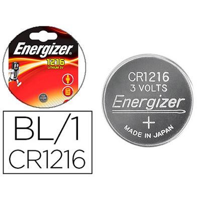ENERGIZER PILES BOUTON CR1216