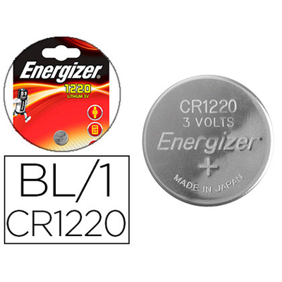 ENERGIZER PILES BOUTON CR1220
