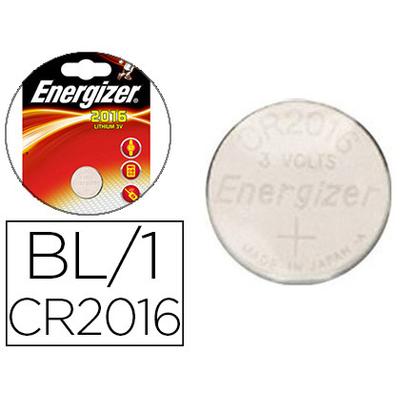 ENERGIZER PILES BOUTON CR2016