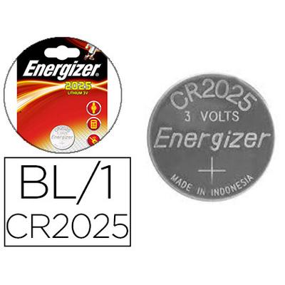 ENERGIZER PILES BOUTON CR2025