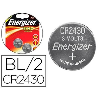 ENERGIZER PILES BOUTON CR2430