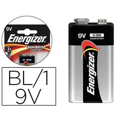 ENERGIZER PILE ALKALINE POWER 6LR61 9V