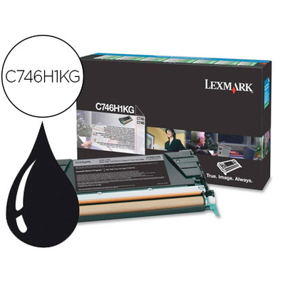 LEXMARK C746H1KG NOIR