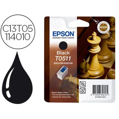 EPSON ÉCHIQUIER T0511 NOIR