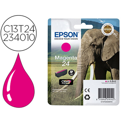 EPSON ÉLÉPHANT T2423 MAGENTA