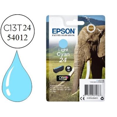 EPSON ÉLÉPHANT T2425 CYAN CLAIR