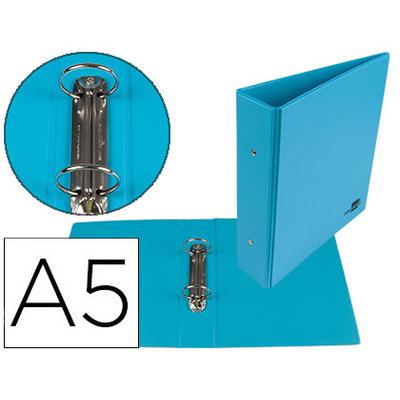 PVC A5 2 ANNEAUX 40MM BLEU