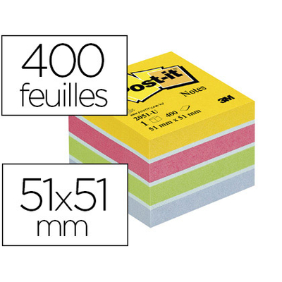 BLOC MINI ÉNERGIE 51x51mm