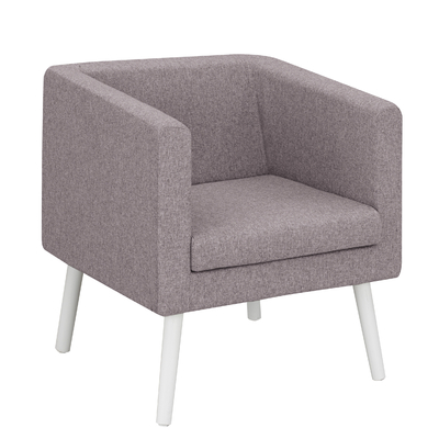 X-SPACE LILAS CHINÉ FAUTEUIL 1 PLACE