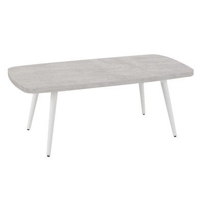 X-SPACE TABLE BASSE RECTANGLE MINÉRAL CLAIR