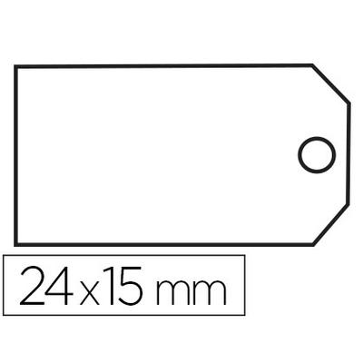ÉTIQUETTES FIL COTON 15x24mm