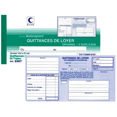 QUITTANCES DE LOYER