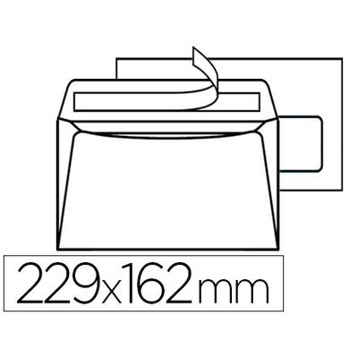 200 ENVELOPPES C5 80g ADHÉSIVES AVEC FENÊTRE 45x100mm