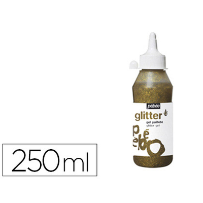 GEL PAILLETÉ 250ml OR