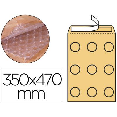POCHETTE BULLES KRAFT 350x470MM X50