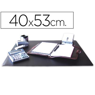SOUS-MAINS PVC NOIR 40X53cm