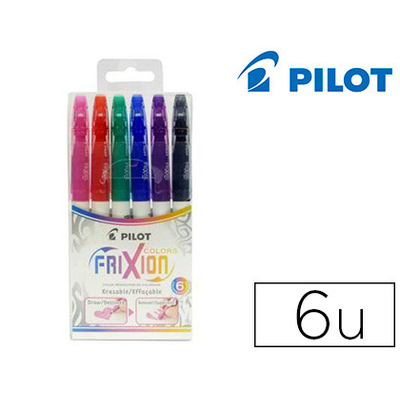 FRIXION COLOR PACK DE 6