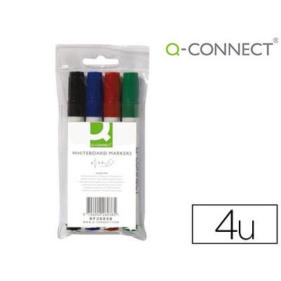 Q-CONNECT EFFAÇABLE PACK DE 4