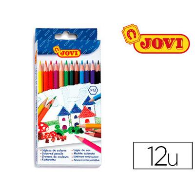 CRAYONS JOVI PACK DE 12