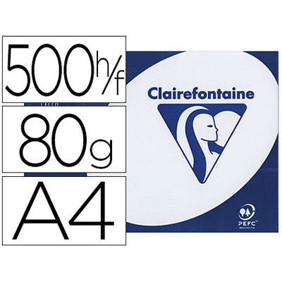 CLAIREFONTAINE CLAIRALFA A4 80G PERFORÉES