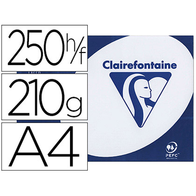 CLAIREFONTAINE CLAIRALFA A4 210G