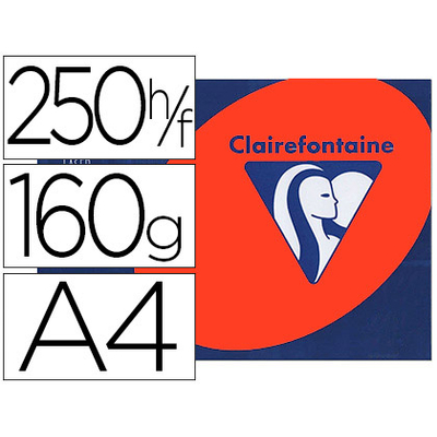 CLAIREFONTAINE TROPHÉE ROUGE CARDINAL A4 160G