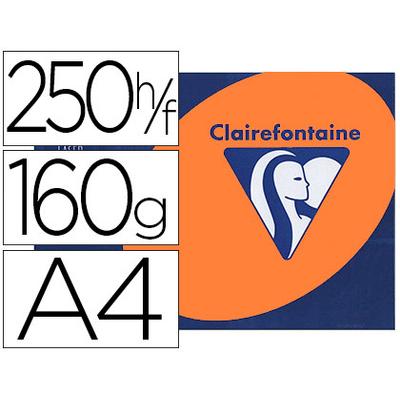 CLAIREFONTAINE TROPHÉE ORANGE VIF A4 160G
